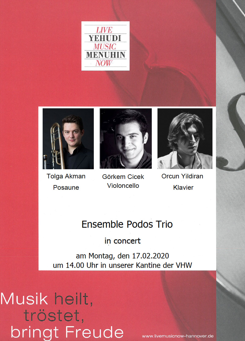 Ensemble Podos Trio