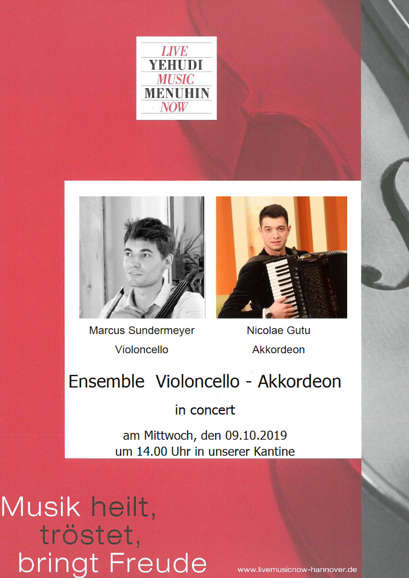 Ensemble Violoncello - Akkordeon