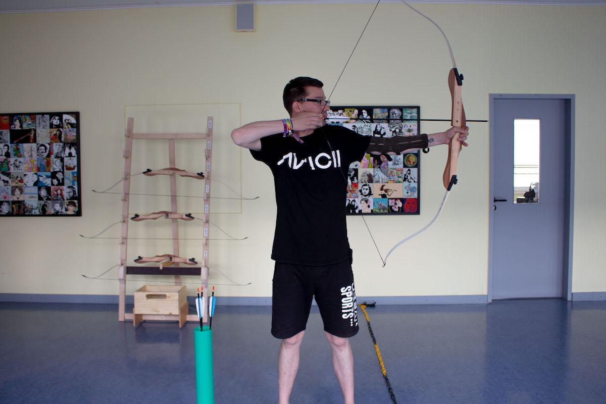 Bogenschießen Training Zu Hause